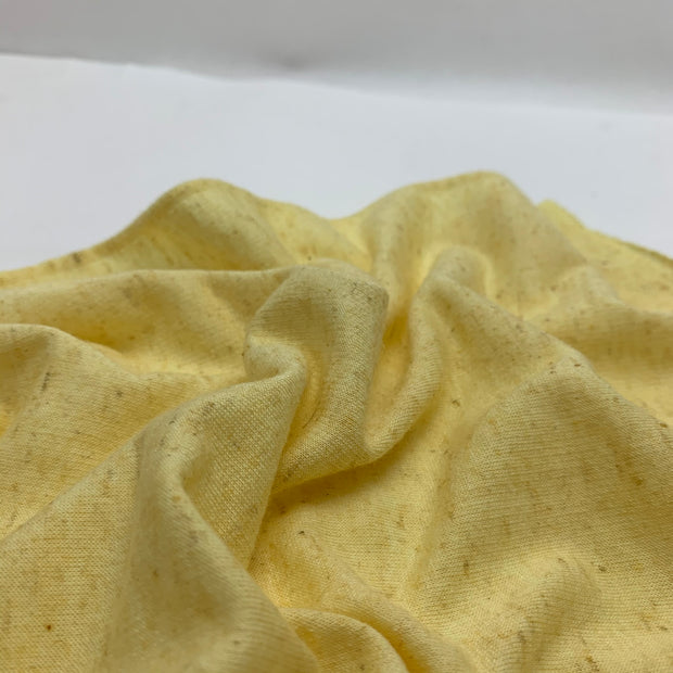 Marled French Terry - Cornbread - Yellow - 0.76M Bundle