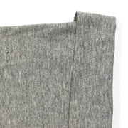 Just Out For a Rib, Are Ya Bud?- Tubular Bamboo Cotton Jersey Knit - Light Grey - 1/2 Meter