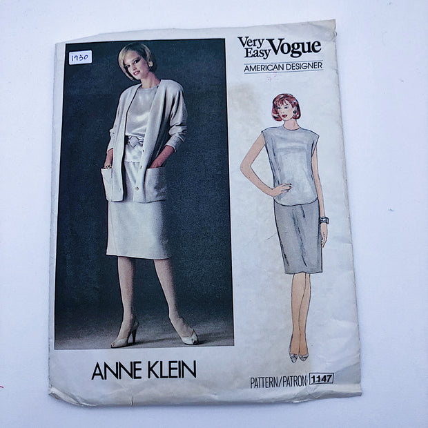 Sewing Pattern - Women - Anne Klein - Vogue 1147