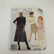 Sewing Pattern McCall's 3354