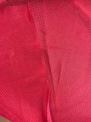 Mesh Sport Jersey - Red  - 1/2 meter - FABCYCLE shop