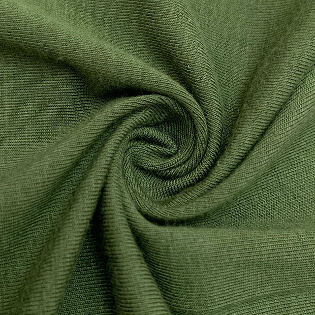 Juniper Needle - Bamboo/Cotton Stretch Jersey - Green - 1/2 Meter