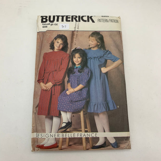 Sewing Pattern Butterick 6269