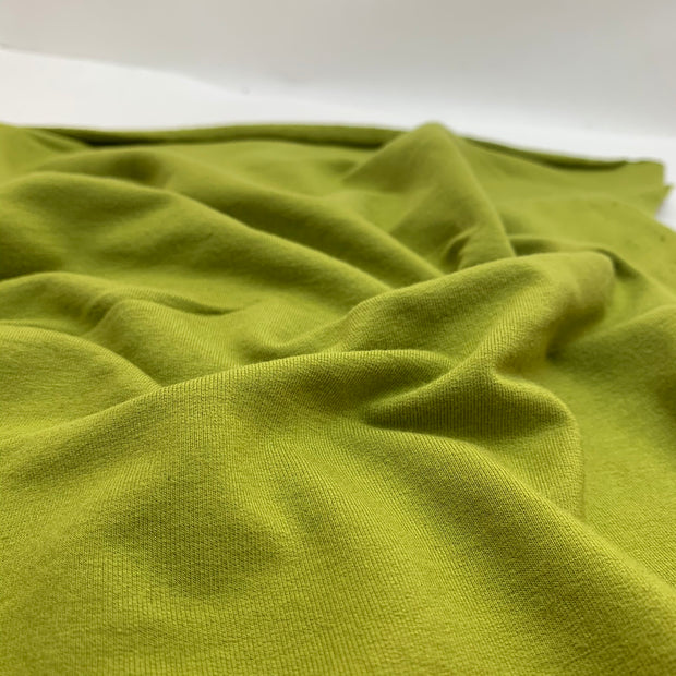 Achoo! Pollen - Bamboo Cotton French Terry - Knit - Chartreuse Yellow - 2.2M Bundle