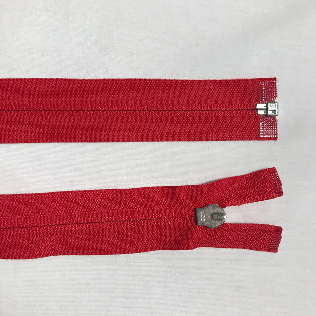 Coil Zipper - Red