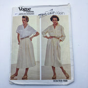 Sewing Pattern - Women - Calvin Klein - Vogue 1320