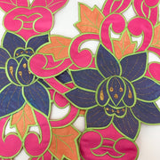"Colourful Lily - 16"" Floral Patch"