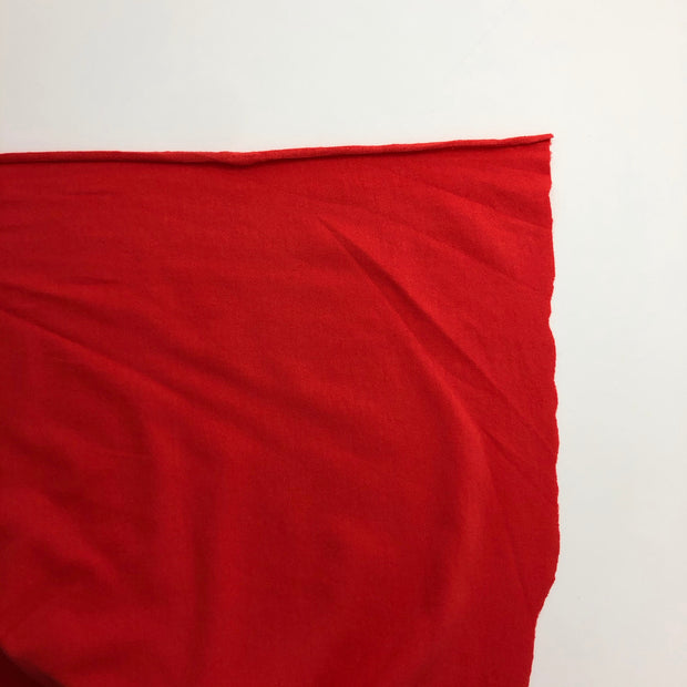 Sour Cherry - Rayon Lycra Blend - Bright Red - 1/2 Meter