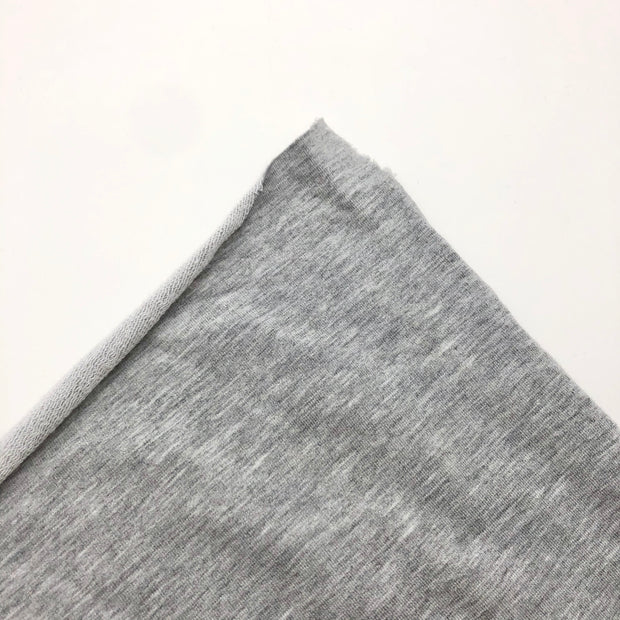 Casual Jogger - Bamboo Terry Knit - Light Grey - 1/2 Meter