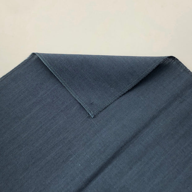 Cool Uncle Blue - Wool Cotton Woven - Slate Blue - 1.18M Bundle