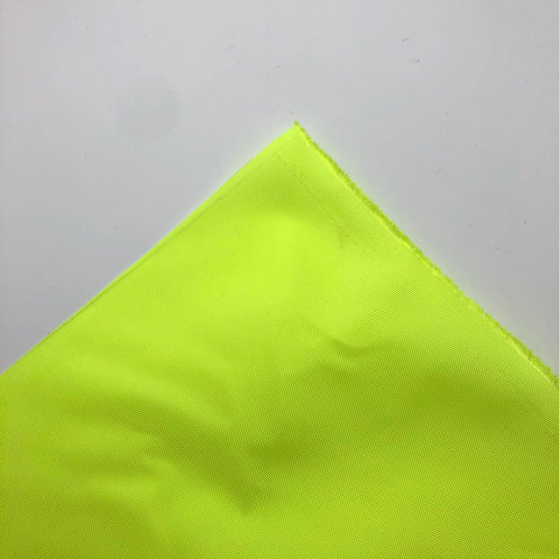 Now You See Me - Nylon Woven - Highlighter Yellow - 1/2 Meter