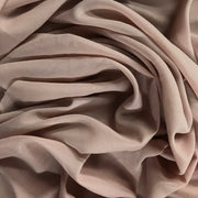 Blush - Crepe Chiffon - Light Pink  - 1/2 meter - FABCYCLE shop
