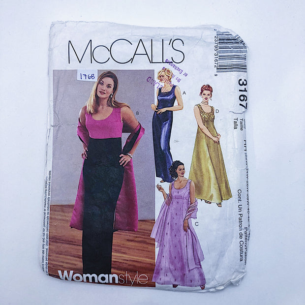 Sewing Pattern - Women - McCall's 3167