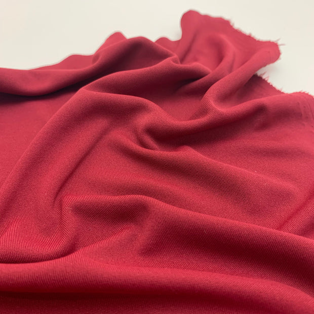 Sport Jersey - Polyester Knit - Lobster Claw - Red - 1/2 Meter