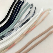 "8"" Long Pre-made Spaghetti Straps - Various Colours - 4 Pack"