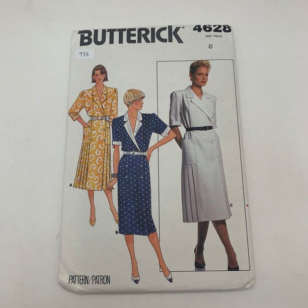 Sewing Pattern Butterick 4628