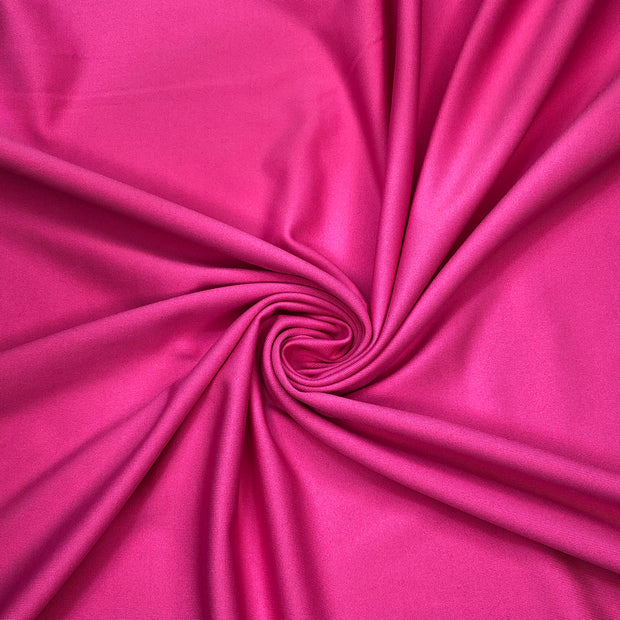 Let's Two-Step! - Polyester Spandex Knit - Bright Pink - 1/2 Meter