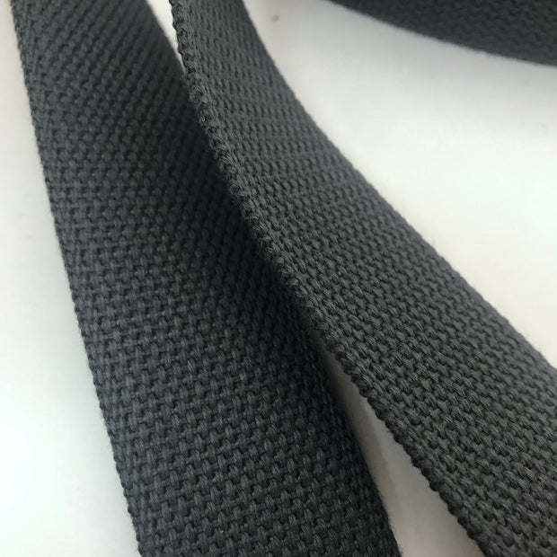 "1.5"" Webbing Trim - Matte Grey - 1M & Bundles"