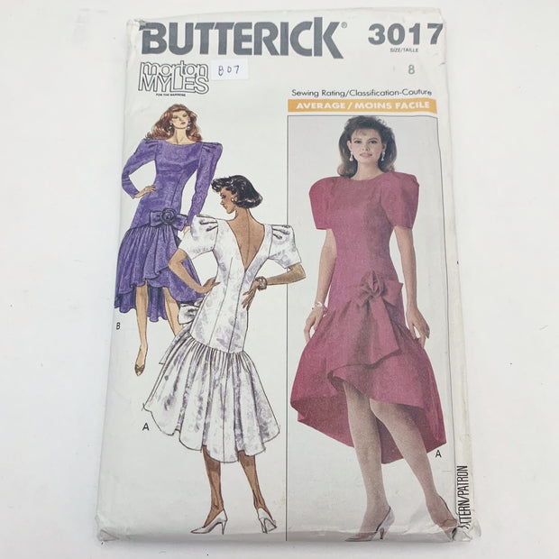 Sewing Pattern Butterick 3017