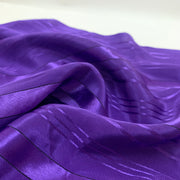 Purple Rain Stripes - Woven - 1/2 Meter