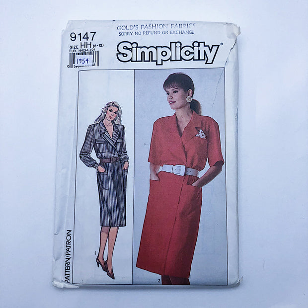 Sewing Pattern - Women - Simplicity 9147