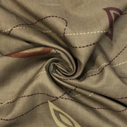 Wind Patterns - Polyester Woven - Beige / Gold / Brown - 1/2 Meter