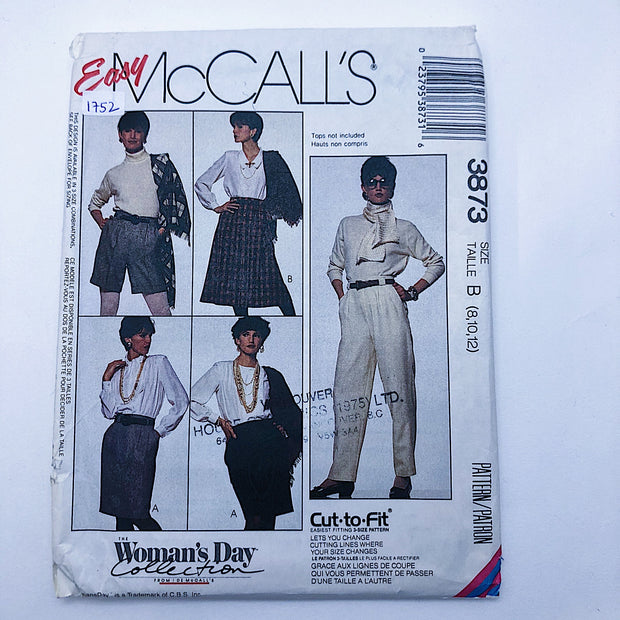 Sewing Pattern - Women - McCall's 3873