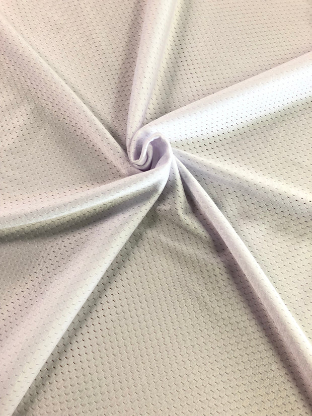 Icing Sugar - Soft Mesh Sport Jersey  - Icing Sugar - 1/2 meter - FABCYCLE shop