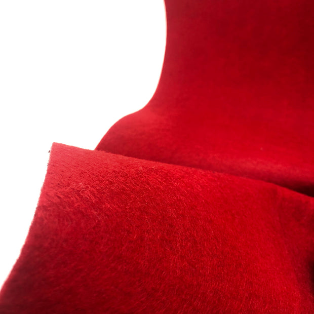 Fire it Up - Synthetic Wool Blend - Felt - Red - 1/2 meter
