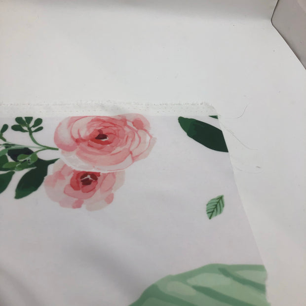 Into the Rose Field - Polyester Woven - 1/2 Meter