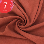 December 7: Holiday Flush - Cotton Polyester Blend Woven - Blush Red - 1/2 Meter