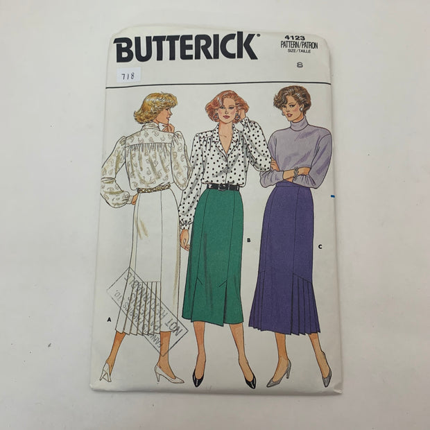 Sewing Pattern Butterick 4123