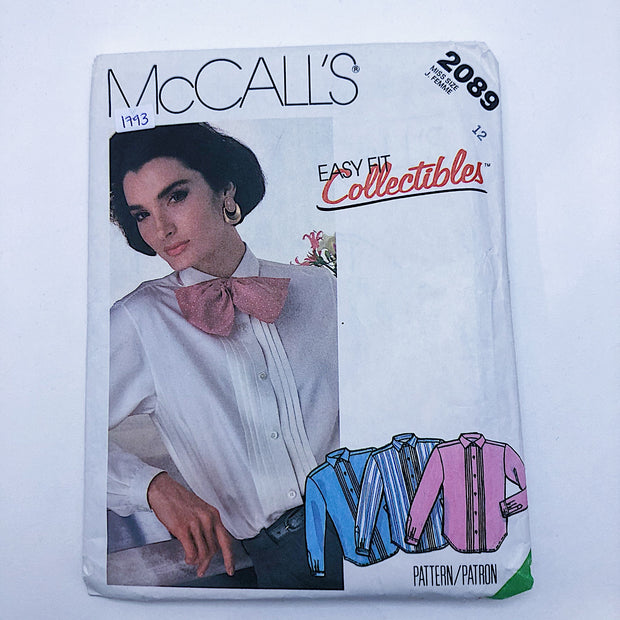 Sewing Pattern - Women - McCall's 2089