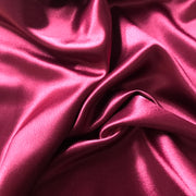 Sultry Red Satin - Woven - 1/2 meter - FABCYCLE shop