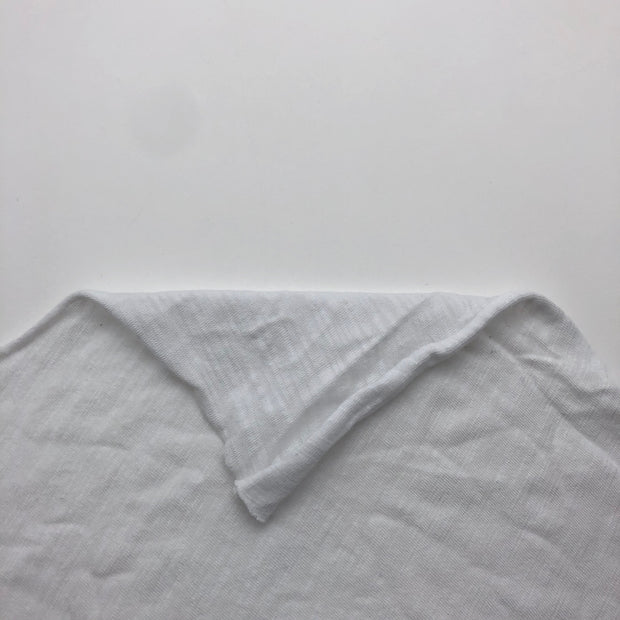 Frosted Glass - Bamboo Rayon Cotton - White - 1.05M Bundle