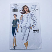 Sewing Pattern - Women - Koko Beall - Vogue 9896