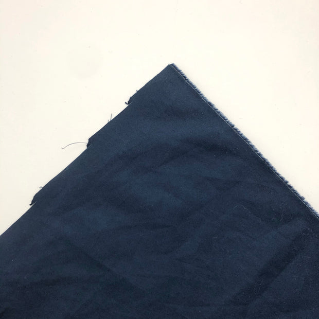 Puddle City - Cotton Nylon Woven - Navy Blue - 1/2 Meter
