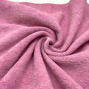 Thick Terry Fleece - Ballet Slipper - Pink - 1/2 Meter