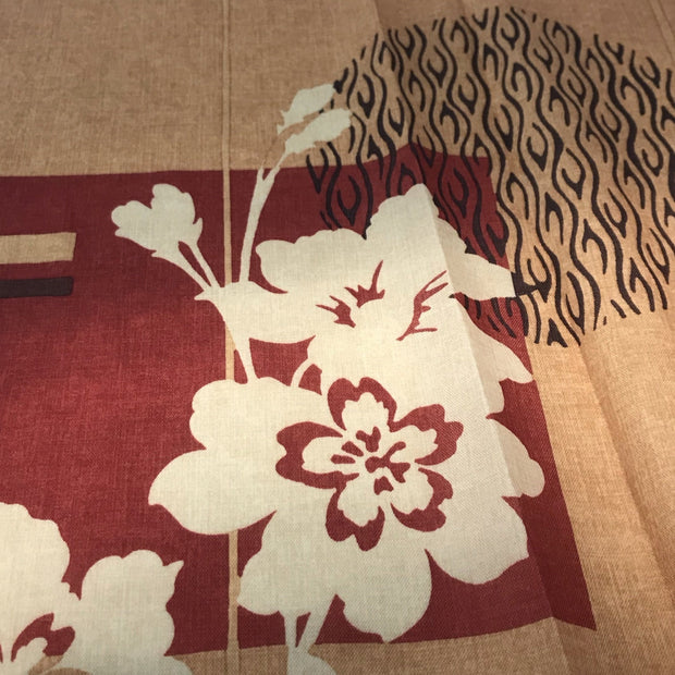 Botanical Sunset - Poly Woven Upholstery - 1/2 Meter