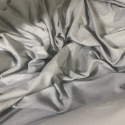 Organic Cotton Tencel - Light Grey - 1/2 meter - FABCYCLE shop