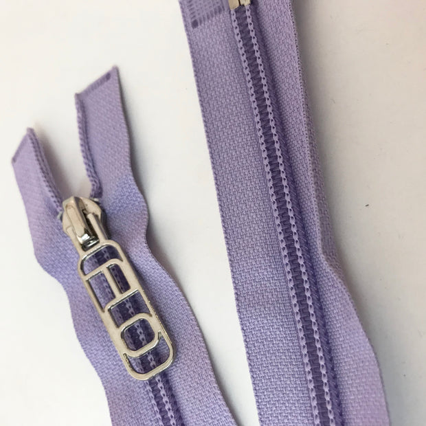 Zippers - Lilac