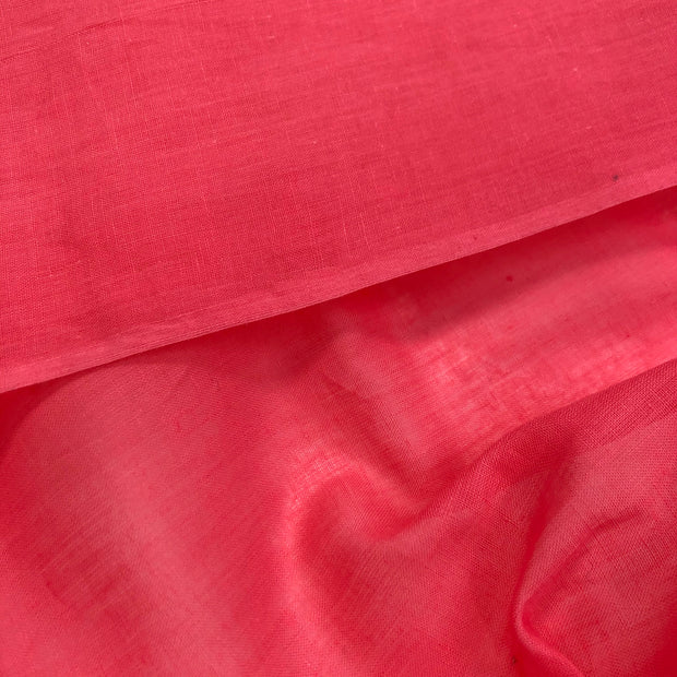Pretty in Pink - Cotton Woven - Bright Pink - 1/2 Meter