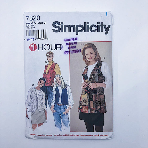Sewing Pattern - Women - Simplicity 7320
