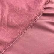 Bamboo Cotton Stretch Fleece - Minimalist Pink - 1/2 meter - FABCYCLE shop