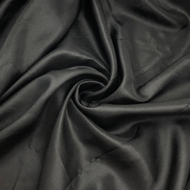 Back Alley - Polyester Blend Woven - Black - 1/2 Meter