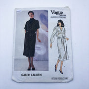 Sewing Pattern - Women - Ralph Lauren - Vogue 1145