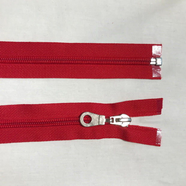 Coil Zipper - Red - FABCYCLE shop