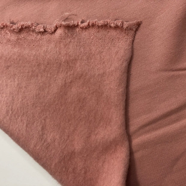 Hamm The Piggy Bank - French Terry Fleece Knit - Blush Pink - 1/2 Meter