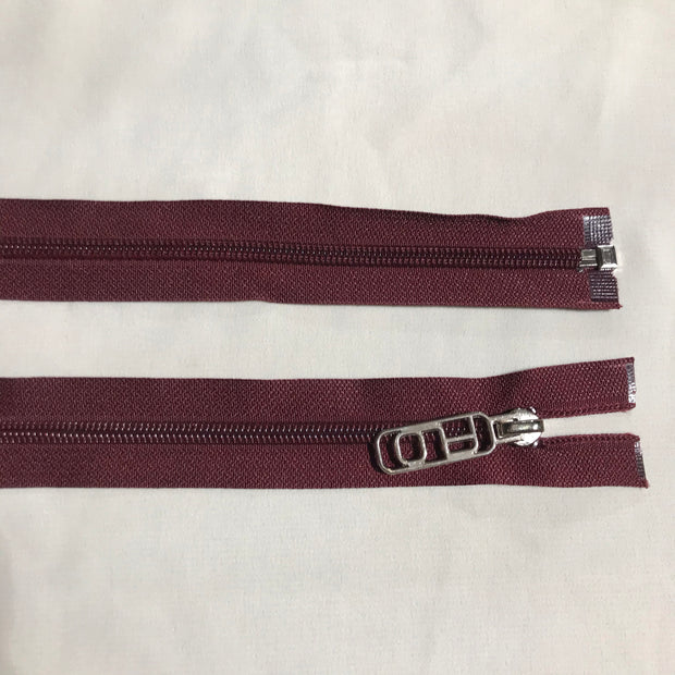 Zippers - Maroon - FABCYCLE shop
