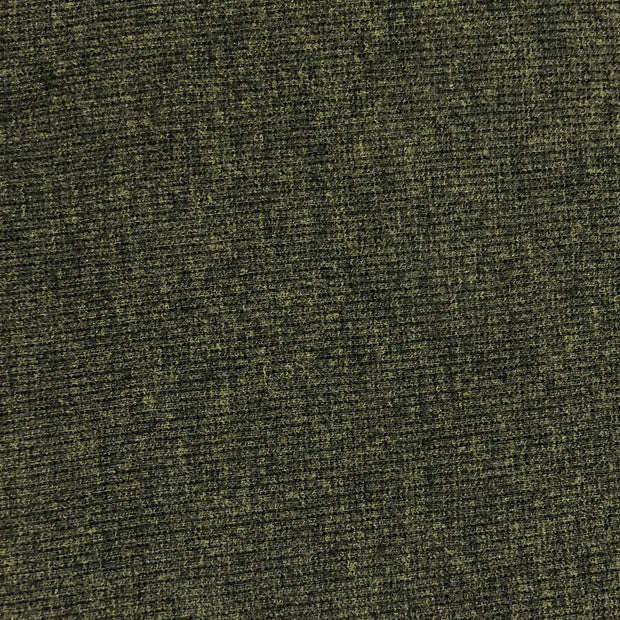 Evergreen Tree - 2x2 Cotton Bamboo Rib Tubular Knit - Lichen Green - 1/2 Meter